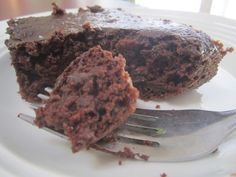Low-Fat Chocolate-Zucchini Brownies with Applesauce Instead of Oil: Better Than You Might Expect -- A light and chewy, low-fat and lower calorie version of a chocolate brownie
