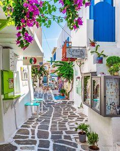 Paros Island, Greece l Travel Diary Vacation Places, Dream Vacations, Vacation Trips, Vacation Spots, Paros Island, Beautiful Places To Travel, Greece Travel, European Travel, Places Around The World