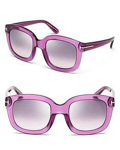 Tom Ford Christophe Sunglasses | Bloomingdale's #LetYourselfGo