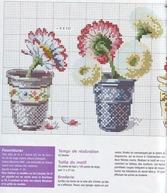 ru / Фото - De fil en Aiguille 48 - 2006 - Labadee Plus Cross Stitch Kitchen, Cross Stitch Love, Cross Stitch Flowers, Cross Stitch Charts, Cross Stitch Designs, Cross Stitch Patterns, Cross Stitching, Cross Stitch Embroidery, Embroidery Patterns