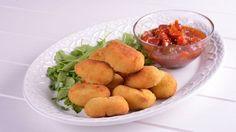 Croquetas de pollo al curry - Gonzalo D'Ambrosio - Receta - Canal Cocina