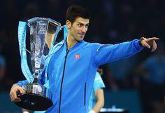 NOVAK DJOKOVIC | Novak: 'This is for my team.' (via Getty Images)