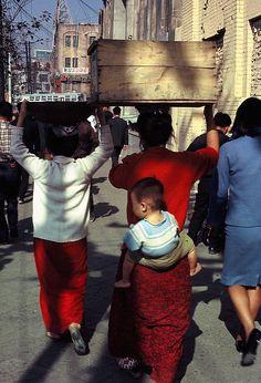 Near Seoul Station 1966 by kathrynrmcneil, via Flickr