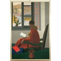 Calderara AntonioLa finestra e il libro1935, olio su tela, 185 x 123 cm