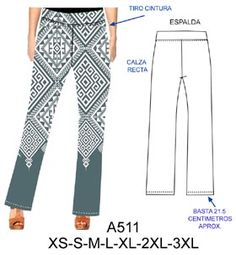 pantalones Sewing Art, Dress Sewing Patterns, Crochet Drawstring Bag, Different Patterns, Formal, Trousers, Pajama Pants, Jumpsuit, Clothes