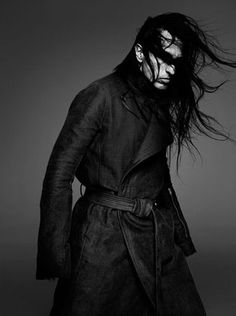 Model - The awesome designer Rick Owens ~DARKWEAR~