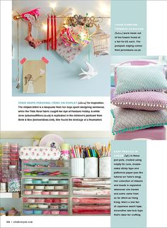 Torie Jayne's Craft Room As featured in Prima Makes