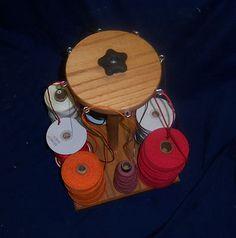Weaving 8 Cone Holder Guide for RH Loom Kumihimo by genemarino, $57.00