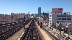 NYC Subway Manhattan bound 7 train from Mets Willets Point to Times Square.