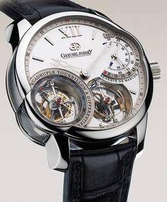 The Greubel Forsey Quadruple Tourbillon watch