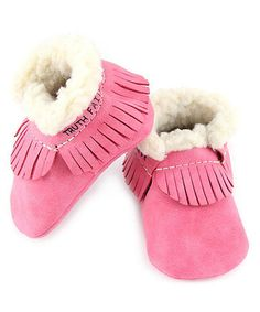 Loving this Hot Pink Vintage Eco Moccasin on #zulily! #zulilyfinds