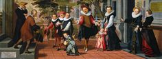 Pietersz Pieter Poor parents, rich children Sun « Pieter Pietersz the Elder [Dutch Painter, ca.1540-1603] « Artists « Art might - just art