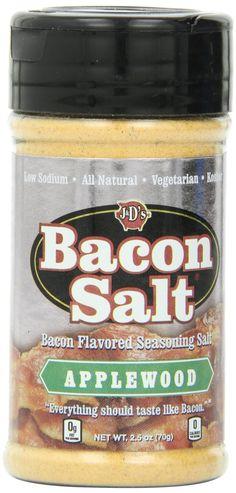 """APPLE WOOD BACON SALT"""