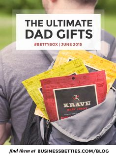 Business Betties | June 2015 | Father's Day Gifts | Krave Jerky #businessbetties #kravejerky #jerkylove #healthysnack #fathersdaygift #productphotography #bettybox #kravekitchen #giftsfordad #glutenfree #gf #dadbod #gourmetjerky #artisinal #paleo