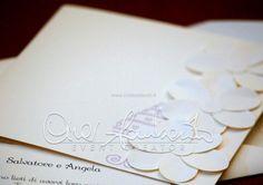 partecipazione di nozze collezione Azuleja in esclusiva per Cira Lombardo
