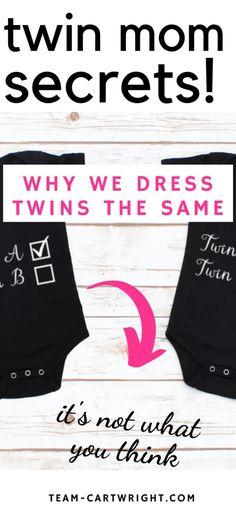 I am that twin mom: Why I dress my twins the same - Team Cartwright Breastfeeding Twins, Newborn Twins, Baby Twins, Twin Mom, Twin Babies, Matching Clothes, Matching Outfits, Twin Toddlers, Toddler Twins