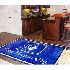 Duke Blue Devils NCAA Floor Rug (4'x6')