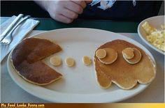 cute pancakes for Cam