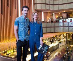Javier Rey Y Marta Hazas en la campaña de concienciación contra el Cancer de pulmón