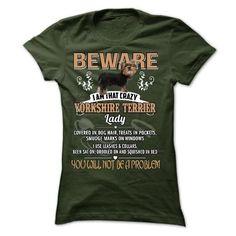 Yorkshire dog lady - #tee trinken #maxi tee. SECURE CHECKOUT => https://www.sunfrog.com/LifeStyle/Yorkshire-dog-lady-23610241-Guys.html?68278