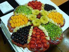 Fruit Pizzas via Stylish Eve
