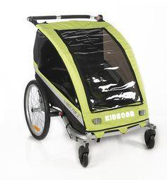 Poussette de vélo 3 en 1 ( mode vélo, piéton ou jogging) pour un ou deux enfants…