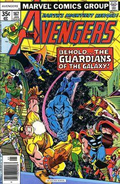 The Avengers #167, January 1978, Pencils: George Pérez, Inks: Terry Austin