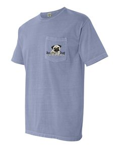 SOUTHERN PUG COMPANY Comfort Colors T-Shirt by SouthernPugCompany