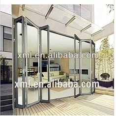 bifold exterior doors | de alta calidad de aluminio exterior bifold puerta de china-Puerta ...