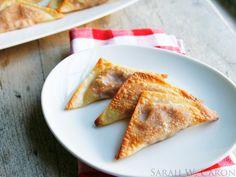 Game Day Food: Crispy Baked Pizza Wontons - Sarah's Cucina Bella