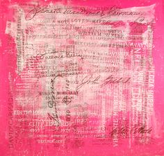 Scott Covert - Valerie Pink Hollywood Signature Pieces