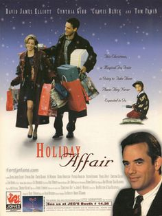 "Holiday Affair (1996) ""This Christmas, a Magical Toy Train is going to take them places they Never Expected to go!""  If you find this movie on during Christmas, watch it! (hk)"