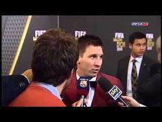 Leo Messi felicita a su rival en la Liga Española por haber conseguido el Balon de Oro de la FIFA