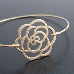 Rose bracelet.