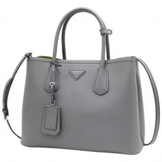 7dd29915730a Prada Saffiano Cuir Leather Handbag Marmo Salvia Tote Bag