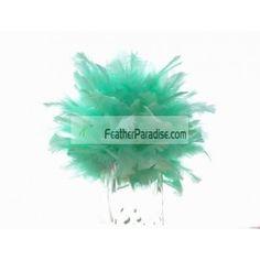 Mint Green Large Feather Balls / Rose Balls/Flower Balls Wedding Centerpieces Wholesale Bulk Discount Cheap