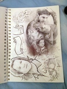 Supernatural fanart.  Petite Madame // Wow, I wish I could draw like this! I wish I could draw THEM like this!  I just wouldn't stop drawing... Thanks!