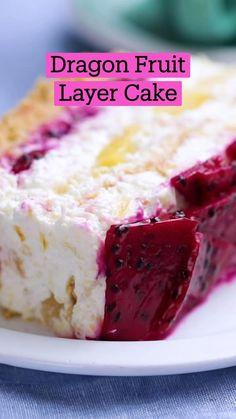 Fun Baking Recipes, Fruit Recipes, Sweet Recipes, Cake Recipes, Dessert Recipes, Cooking Recipes, Köstliche Desserts, Summer Desserts, Delicious Desserts