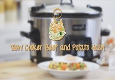 From freezer to slow cooker, prep Beef and Potato Hash ahead of time for a delicious (and easy) dinner later!  #CrockPot #SlowCooker #FoodSaver #Recipes #Beef #Potato #FreezerMeal #SealtoSavor [Promotional Pin]