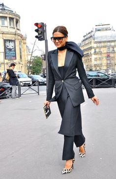 so stunning. CC blackout. Paris. Christine Centenera