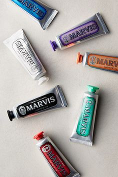 Gourmet toothpastes for the world traveler #anthrofave http://rstyle.me/n/txh4snyg6