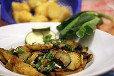 Bratkartoffeln indischer Art http://www.wir-essen-gesund.de/rezept-der-woche-bratkartoffeln-indischer-art/