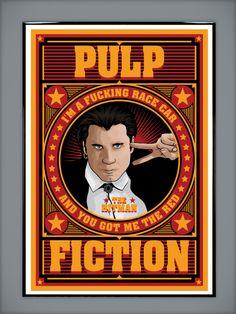 Pulp Fiction: The Hitman by Michael Metatron Tomes (MarkItZeroNET)