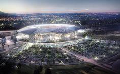 Décines : Le stade de foot connecté de l'Olympique Lyonnais