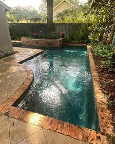 Backyard Plan, Small Backyard Pools, Backyard Pool Designs, Small Pools, Swimming Pools Backyard, Swimming Pool Designs, Backyard Projects, Backyard Landscaping, Backyard Ideas