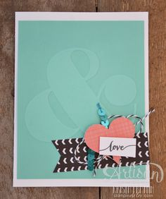 Stampin' Dolce: endless love card using Stampin' Up! products!