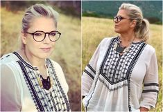 Marianne James, Nouveau Look, People, Appris, Ruffle Blouse, Moment, David, Tops, Fashion