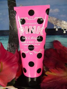 Definitely a favorite! Even though they only carry it once a year! Perfume Packaging, Pink Nation, Pink Makeup, Hand Lotion, Everything Pink, Health And Beauty Tips, Smell Good, Face And Body, Body Products