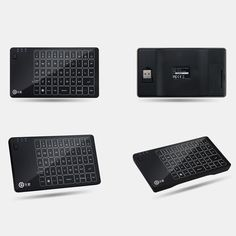 High Quality 2.4GHz Wireless Touched Keyboard Mouse Touchpad 3 in 1 Combo Multi-touch Gesture Control Remote Mini Handheld for Android Smart TV Box Apple LCD TV iPad Pro Tablet PC Laptop from tomtop.com