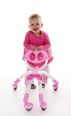 Pewi Ybike Ride On Toy and Walking Buddy (Pink) - http://www.rekomande.com/pewi-ybike-ride-on-toy-and-walking-buddy-pink/